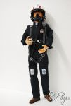 8FLY 1/4 Scale Flight Suited - Modern Jet Pilots blu