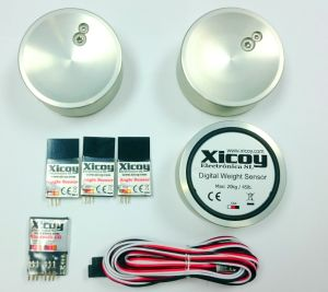 Xicoy Digital weight, balance and angle meter (Bluetooth)