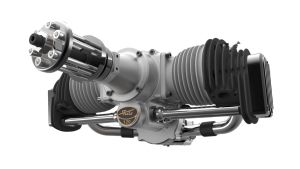 Fiala FM120B2- FS motore 4 tempi con avviamento elettrico