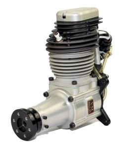 Fiala 4-stroke gasoline engine 60cc with electric starter and silencer!