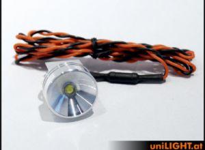 UniLIGHT 8Wx2 Gears-Spotlight, UltraPower, 26mm