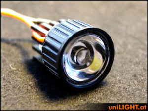 UniLIGHT Spot Eco 8W 22mm 60° T-Fuse bianche