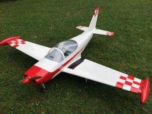 GB Models SIAI Marchetti SF 260 2,30mt bianco/rosso