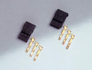 FullPower JR male connector Gold Blue Line 10pcs