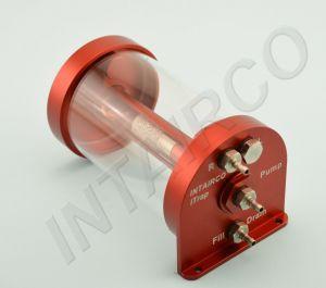 Intairco iTrap Basic 60 Single Inlet 250ml con nipplo per tubo Festo da 4mm