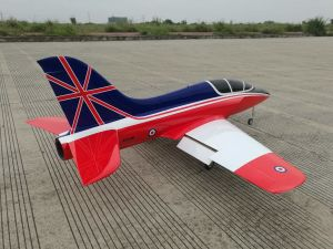 T-ONE Models MINI FORTUNE Jet 1,70mt + carrelli