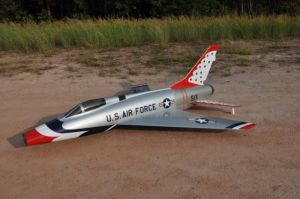 CARF F100 D Super Sabre 2,5mt All silver