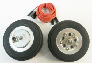 Main wheels FT 57mm with e-brake