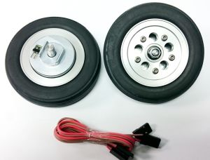 Main wheels FT 84mm with e-brake