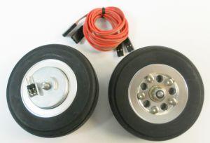 Xicoy Ruote 90mm con freno elettrico