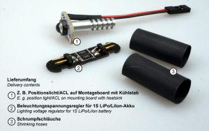 OPTOTRONIX Modulo di illuminazione senza copertura