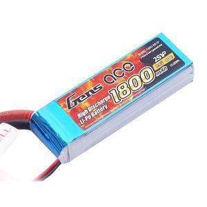 Gens Ace batteria lipo 1800mAh 7.4V 40C 2S1P