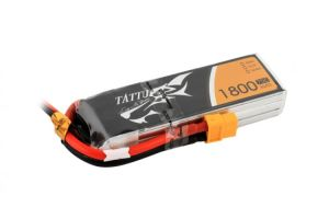 Gens Ace TATTU batteria lipo 1800mAh 11.1V 75C 3S1P