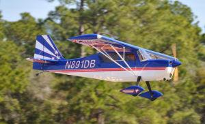 "Pilot DECATHLON 3,10mt 122"" blu/bianco"