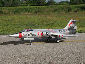 Sebart F-104 Starfighter EDF