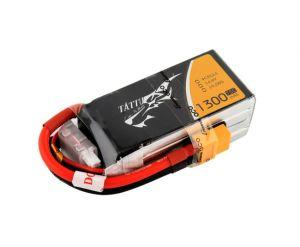 Gens Ace TATTU batteria lipo 1300mAh 14.8V 75C 4S1P