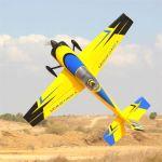 """EXTREME FLIGHT SLICK 580 105.5"""" ARF GIALLO/BLU"""