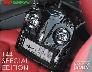 JR/DFA TX T44 Special Edition 14ch DMSS (Mode 2)