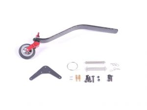 Tail wheel assembly carbon fiber 85-120cc V3
