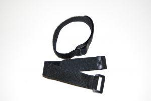 Fascette Velcro con passante 20x200mm - 2 pz. BLU