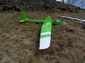 Glider_it Prismaray ARF FS white