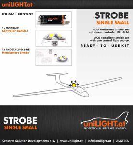 UniLIGHT Set luce strobo - small