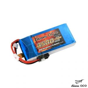 Gens ace 2600mAh 7.4V RX 2S1P Lipo Battery Pack / RX/ TX