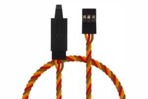 Extension Cable 90cm JR with lock twisted