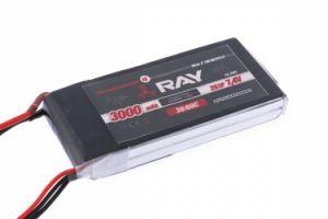 RAY G4 batteria lipo 3000mAh 7.4V 30C RX