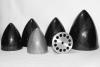 "Ogiva 80 mm. Fiberglass silver mod. extra 3.15"""