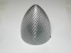 "Ogiva 90 mm. Fiberglass silver mod. extra 3.5"""