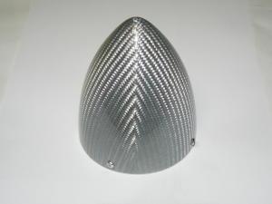 """Spinner 100 mm. Fiberglass silver mod. extra 3.95"""""""