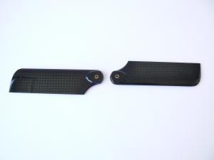 Pale carbonio 92 mm coda