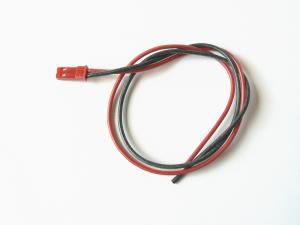Cavo JST batteria 30 cm. siliconico 0,50