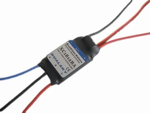 Dualsky XC1812BA, ESC 18A 2-4s lipo