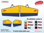 REVOC BASIC - set di CUSTODIE 30% - B/R logo 8FLY