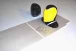 GB-Models pilot YAK 55 2.20 mt. yellow/red