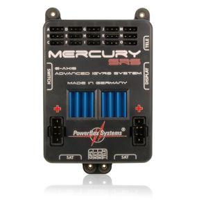 PowerBox MERCURY SRS + Sensorswitch + OLED-Display