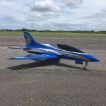 T-ONE MODELS FORTUNE Jet 2.2mt + Landing gear