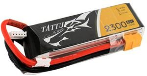 Gens Ace TATTU batteria lipo 2300mAh 11.1V 45C 3S1P